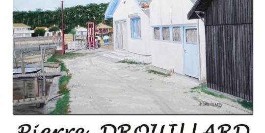 Affiche exposition peinture à l'huile