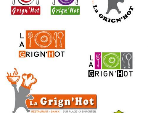 Logos pour la Grin'Hot