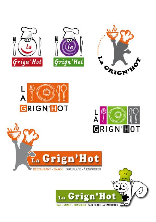 Logos Grin'Hot