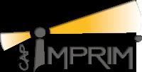 Cap Imprim' – imprimerie sur Lège Cap-Ferret Logo